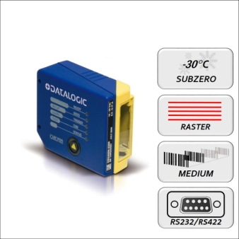 Datalogic DS2400N-1215 RS232 Medium range Rastermotor Subzero